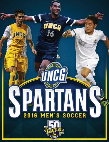 2016 UNCG Mens Soccer Digital Guide By Athletics