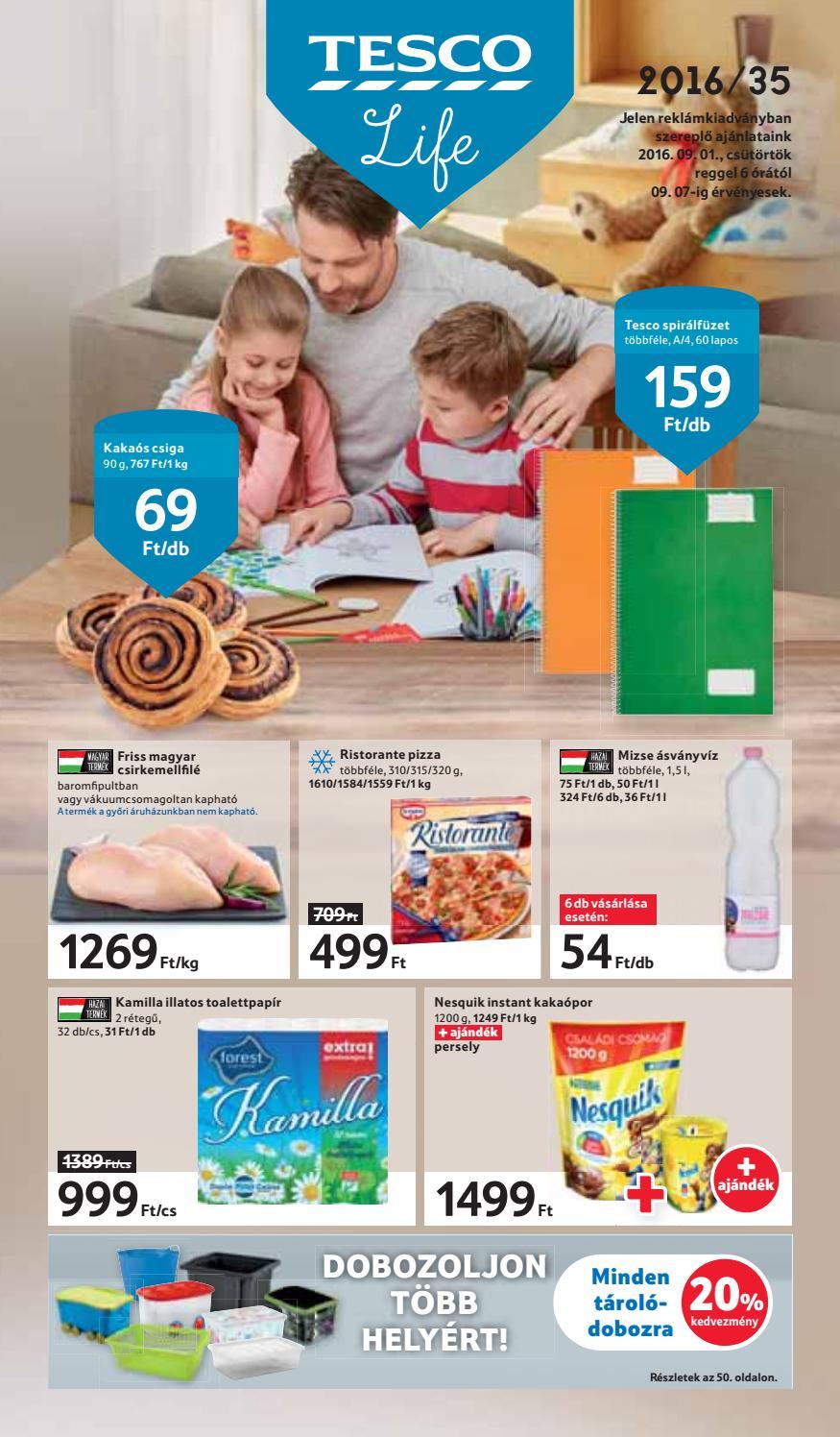 Tesco hipermarket reklamujsag 20160901 by myhungary.net - issuu e95960578b