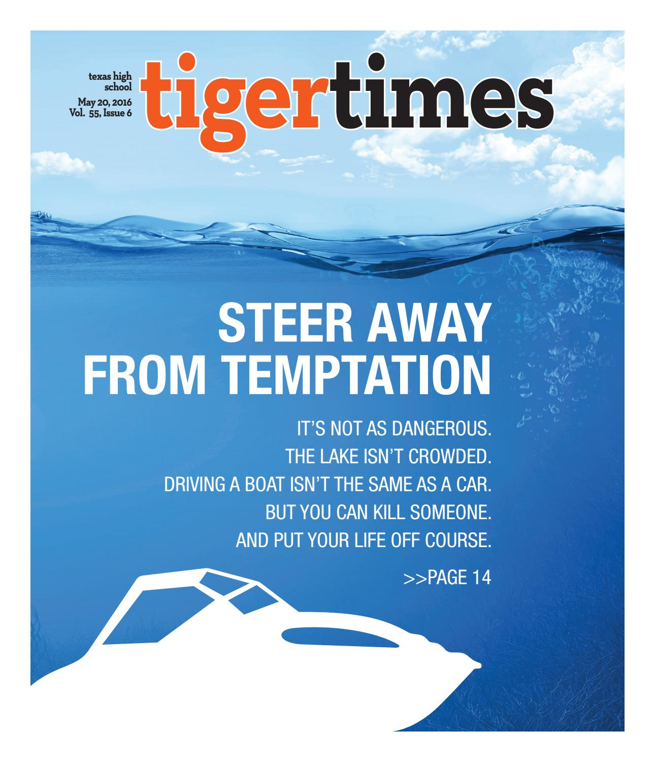 Tiger Times May 2016 by THS Student Media issuu
