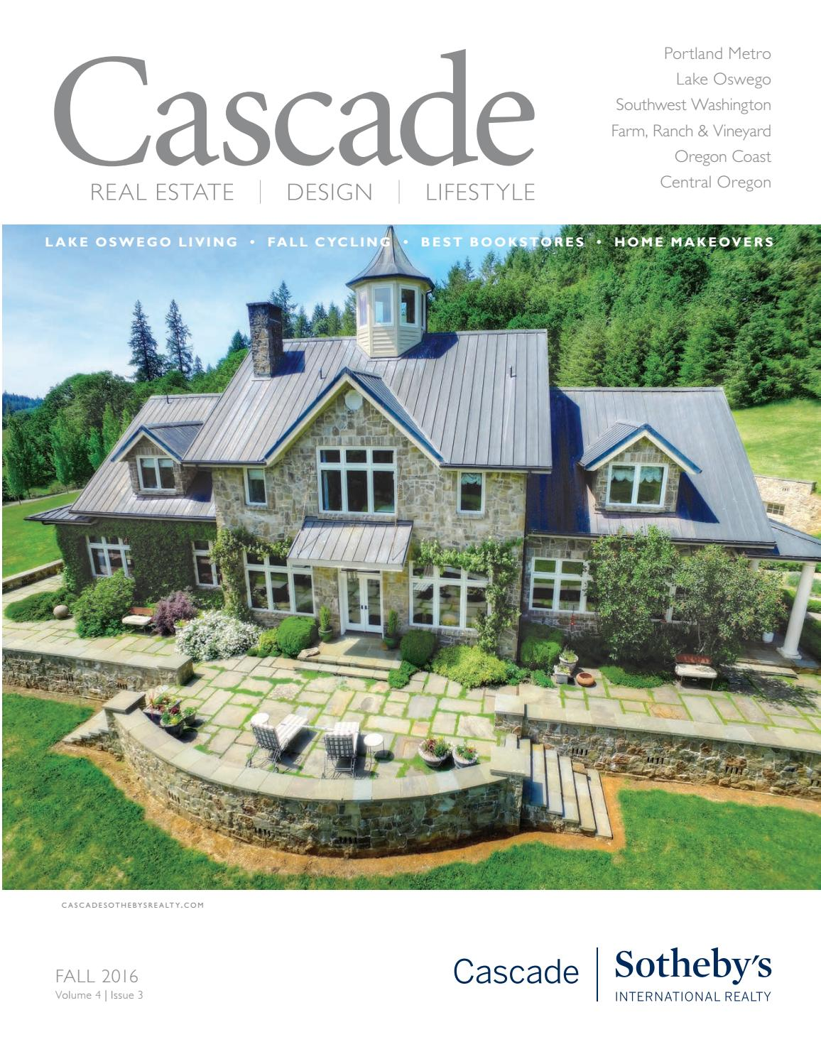 cascade magazine by cascade sotheby's international realty - issuu