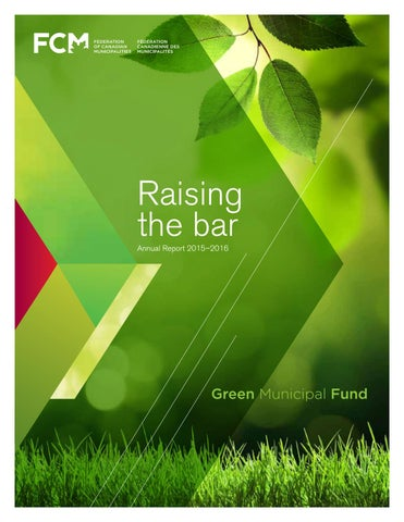 Fcms Green Municipal Fund 2015 2016 Annual Report By Fcms Green