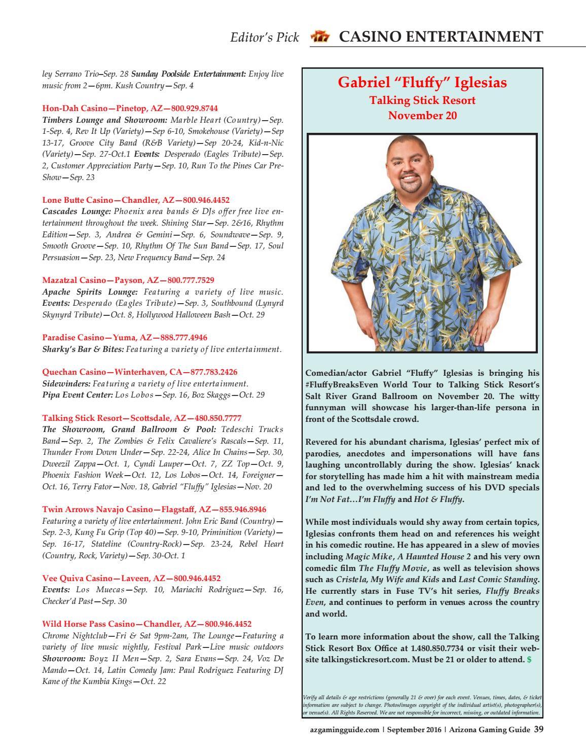 Arizona Gaming Guide Magazine September By Arizona - Talking stick resort car show