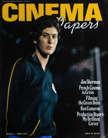 Cinema Papers March-April 1979 by UOW Library - issuu