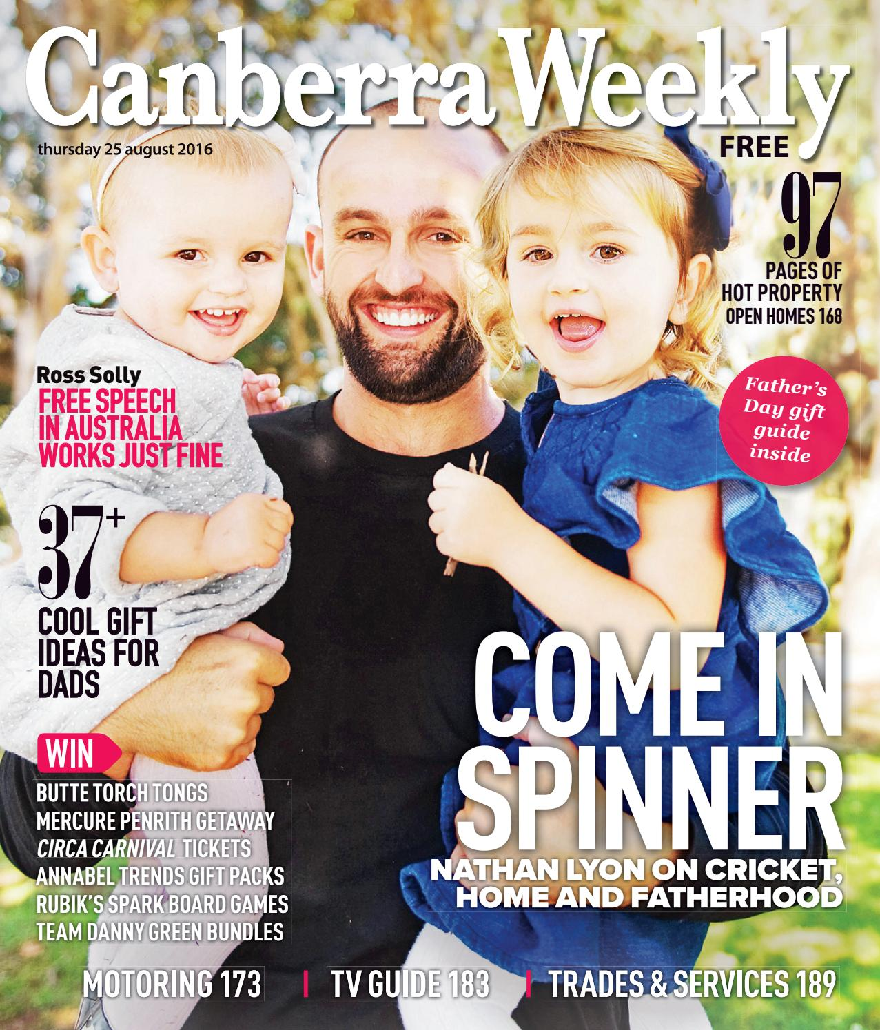 3d162ccbcb1461 25 August 2016 by Canberra Weekly Magazine - issuu