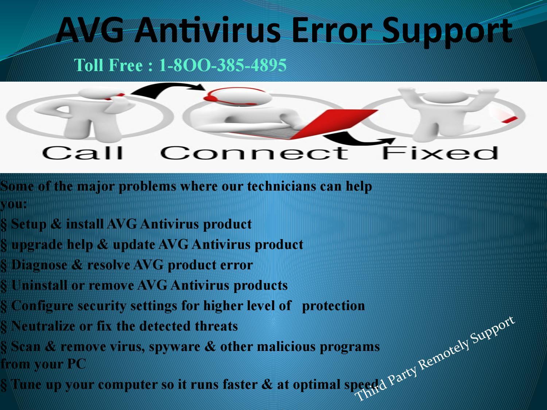 avg upgrade problems