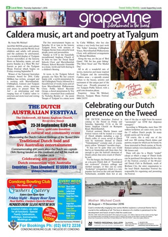 Tweed valley weekly september 1 by Tweed Valley Weekly - issuu