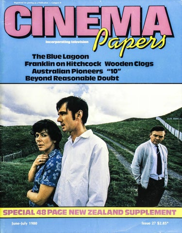 Cinema Papers June July 1980 By Uow Library Issuu