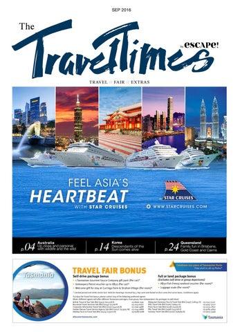The Travel Times | Travel Fair Extra Sep 2016