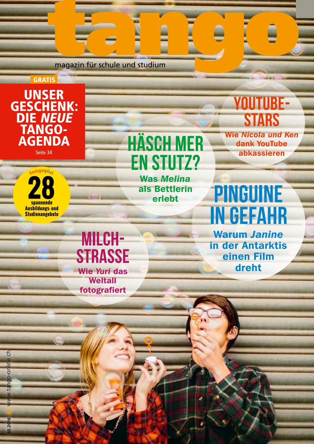 tango – magazin für schule und studium – 2016/02 by Admin Administrator -  issuu