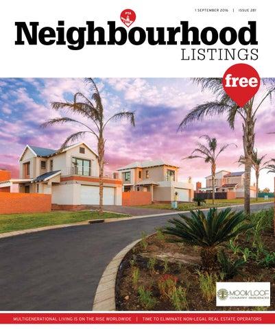 Neighbourhood PTA Listings - 01 September 2016 by Your Neighbourhood