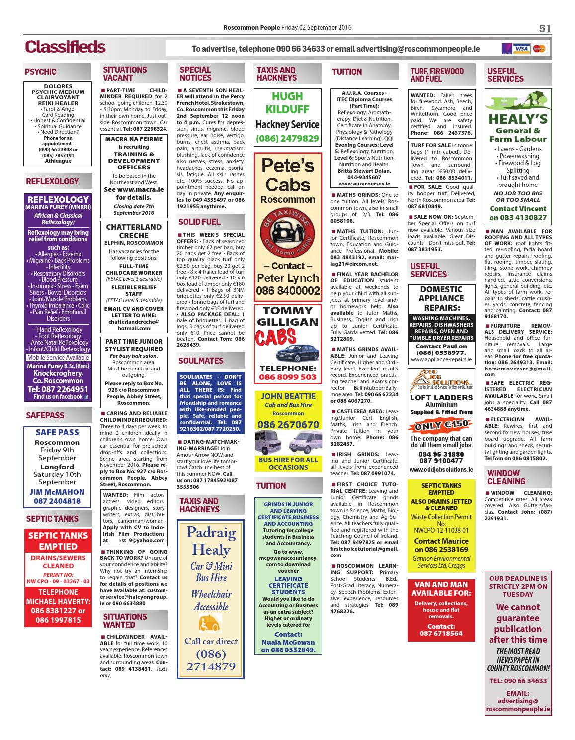 Roscommon Classified Ads | Gumtree Classifieds Ireland