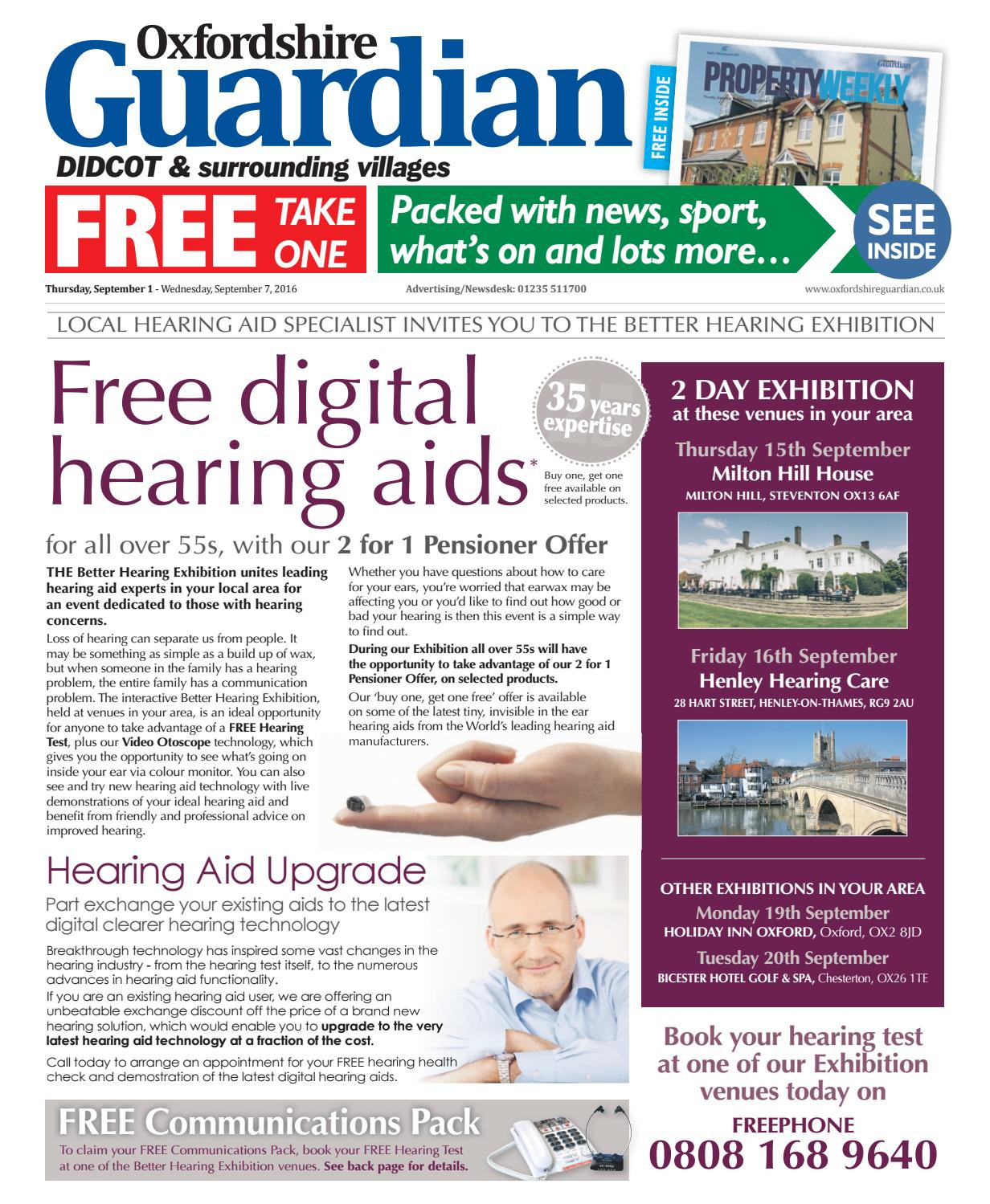 1 september 2016 oxfordshire guardian didcot by Taylor Newspapers - issuu