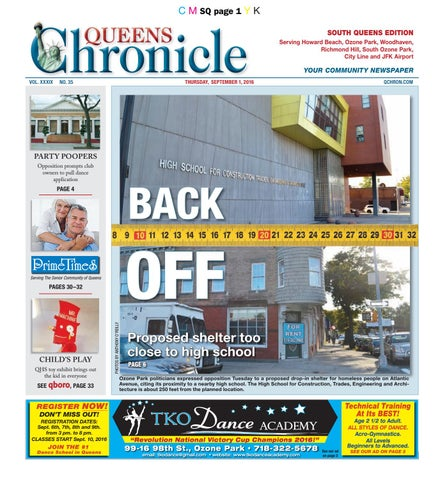 queens chronicle south edition 09 01 16 by queens chronicle issuu