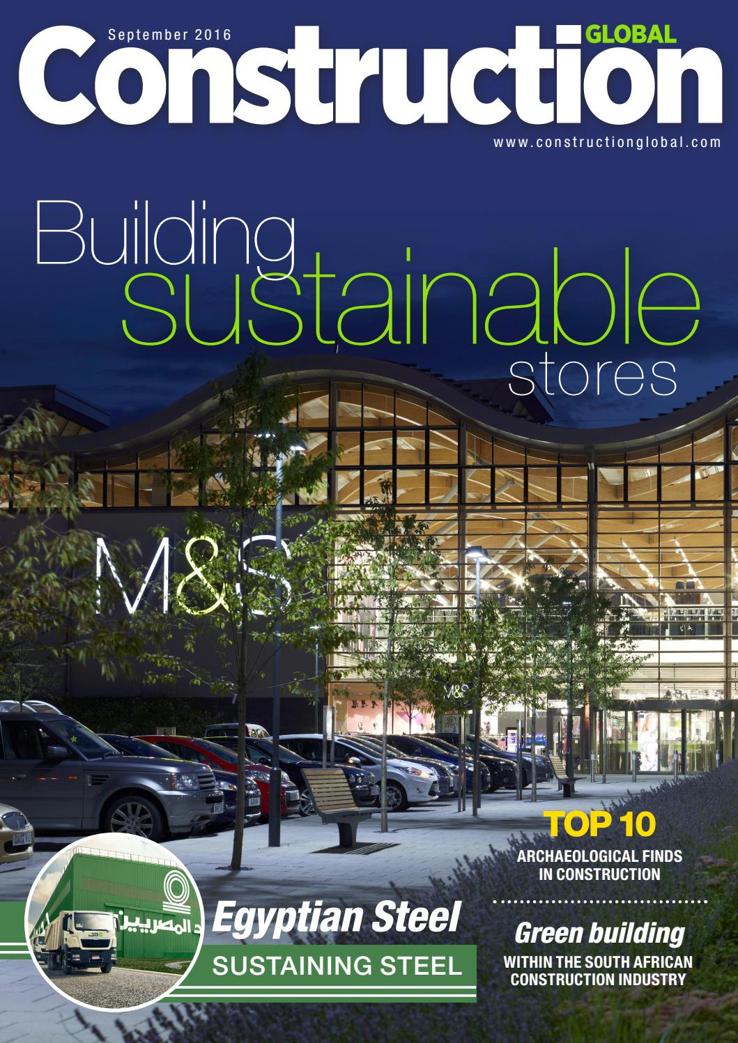 Construction Global Magazine September 2016 By