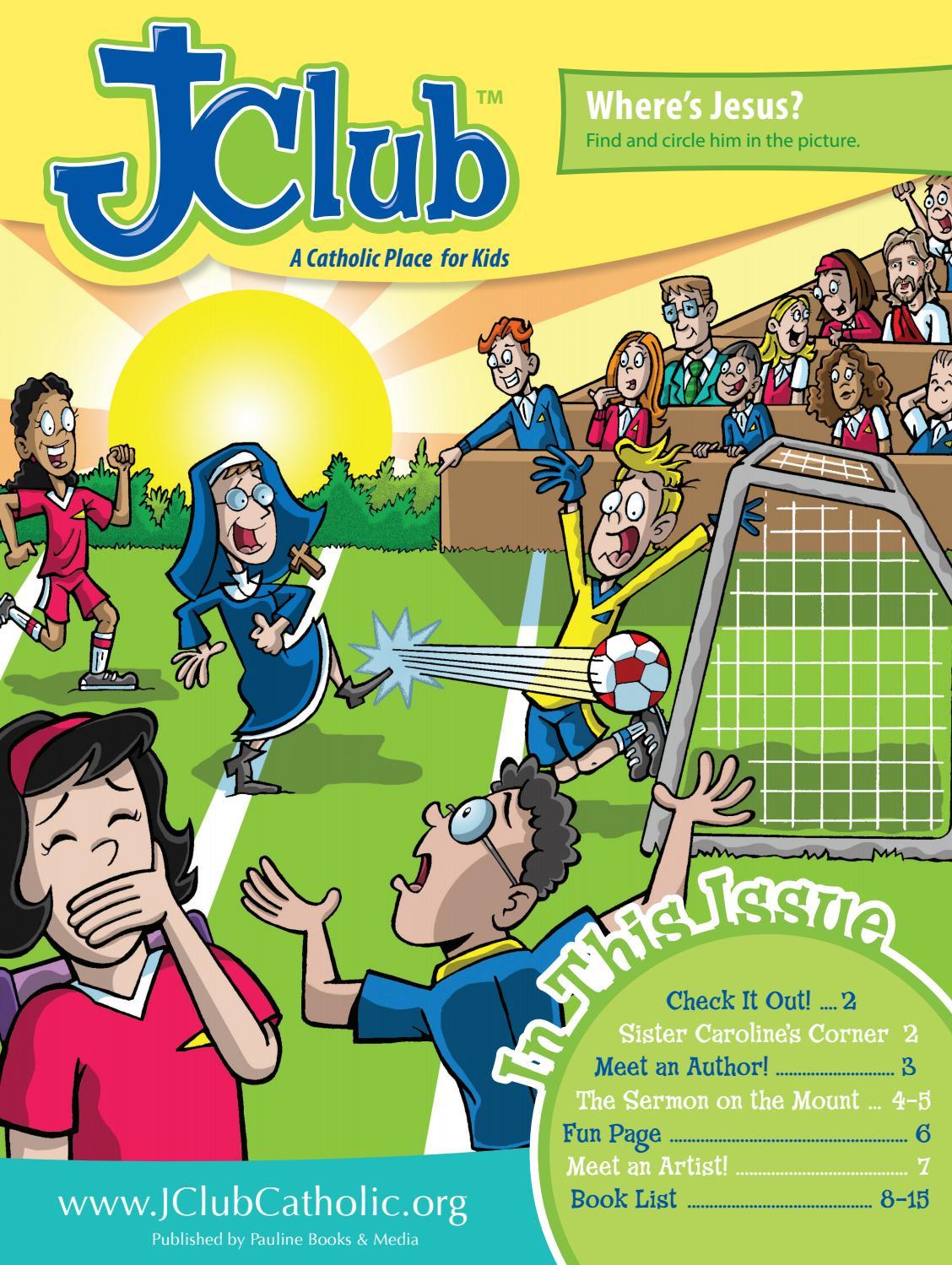 Jclub Magazine Fall 2016 by Pauline Books and Media - issuu