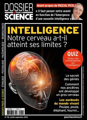 Dossier Pour la Science n°92   les limites de l intelligence ... 2649659459d