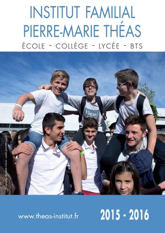 revue2015 2016prsite by groupe scolaire th233as institut