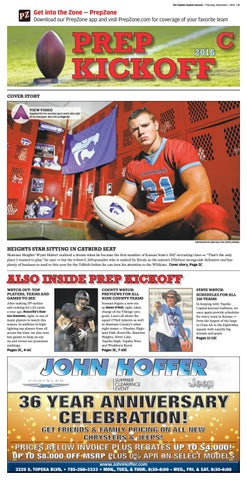 44ca8223 Prep kickoff 2016: Here's the Topeka Capital-Journal's special ...