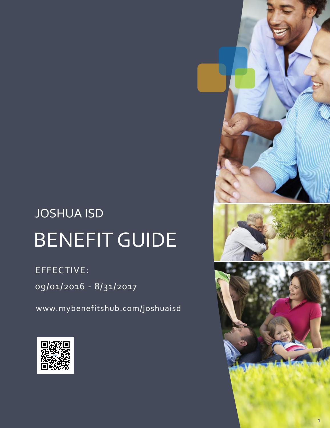 2016 Benefit Guide Joshua ISD by FBS