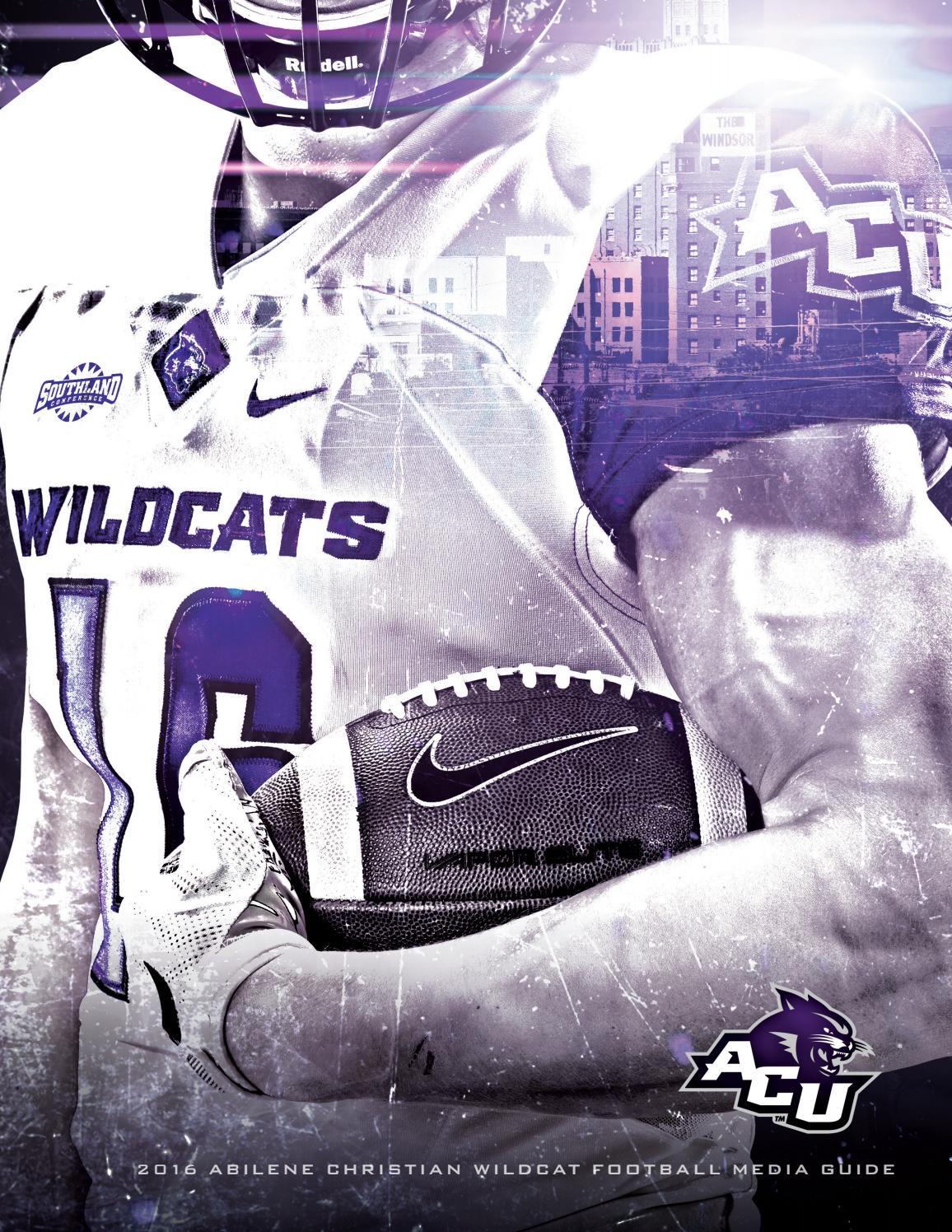 2016 ACU Wildcat Football Media Guide by Abilene Christian University -  issuu