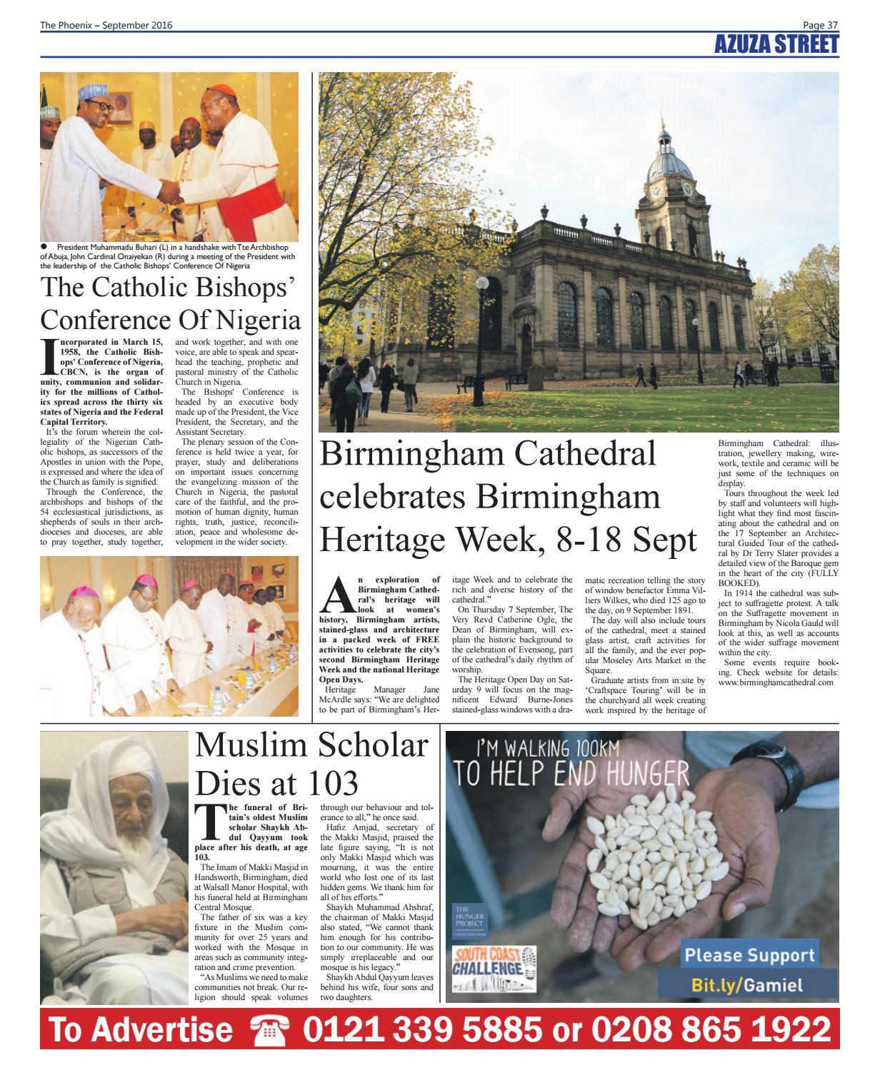 The Phoenix Newspaper - September 2016 by The Phoenix