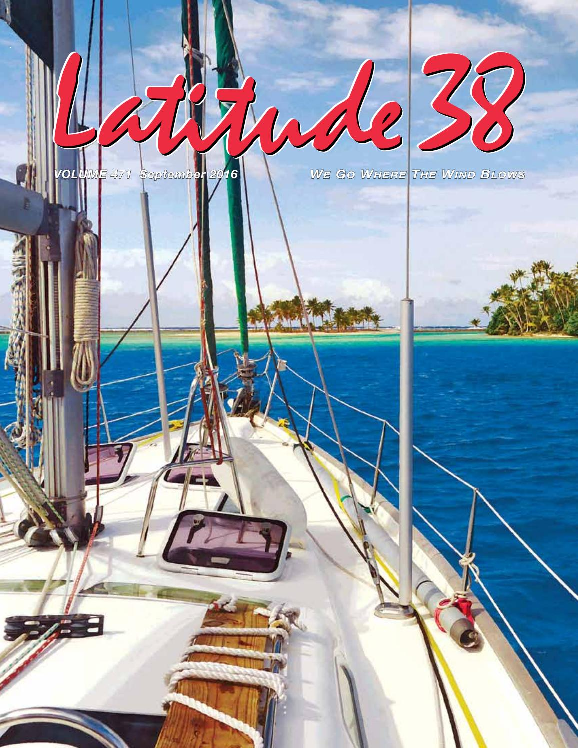 Latitude 38 Sept 2016 By Media Llc Issuu Ship Terms Diagram Sail Rigging Tall Ships Pinterest