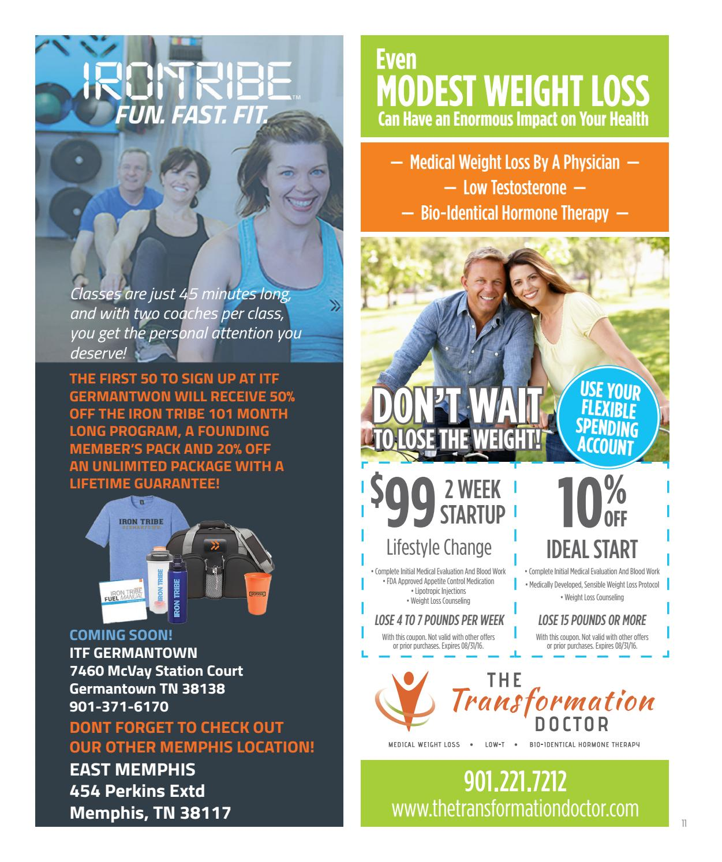 Memphis Health+Fitness September 2016 by Memphis Health +