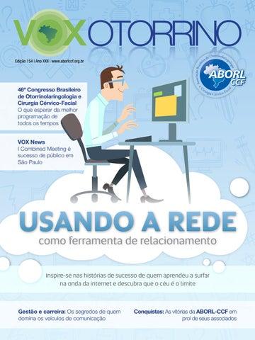Revista Vox  154 by ASSOCIAÇÃO BRASILEIRA DE OTORRINOLARINGOLOGIA E ... dd1df6c3d8