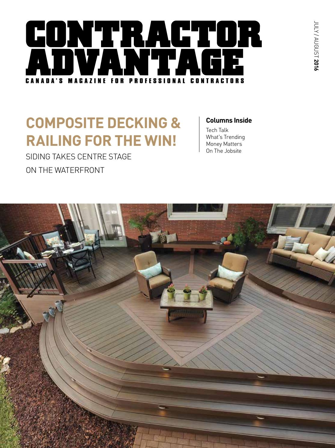 Contractor Advantage July August 2016 By Espress Labs Inc Issuu