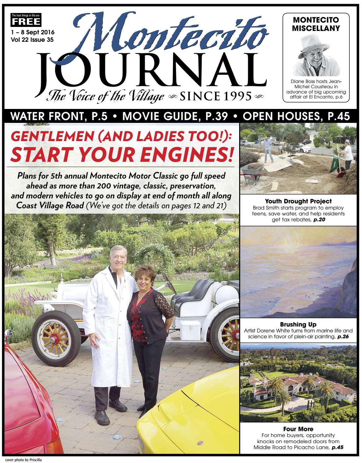 Start Your Engines By Montecito Journal