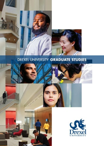 Drexel University Graduate Studies Brochure by The Graduate