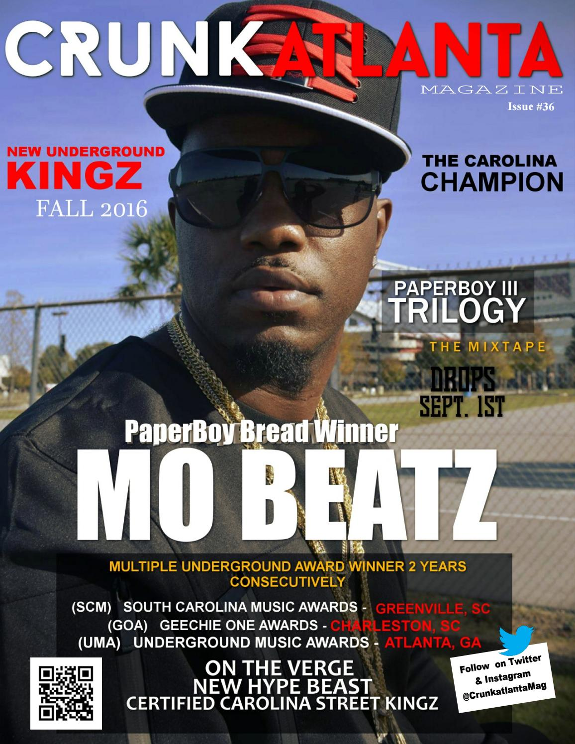 Sept 2016 - The PaperBoy Bread Winner Mo Beatz by