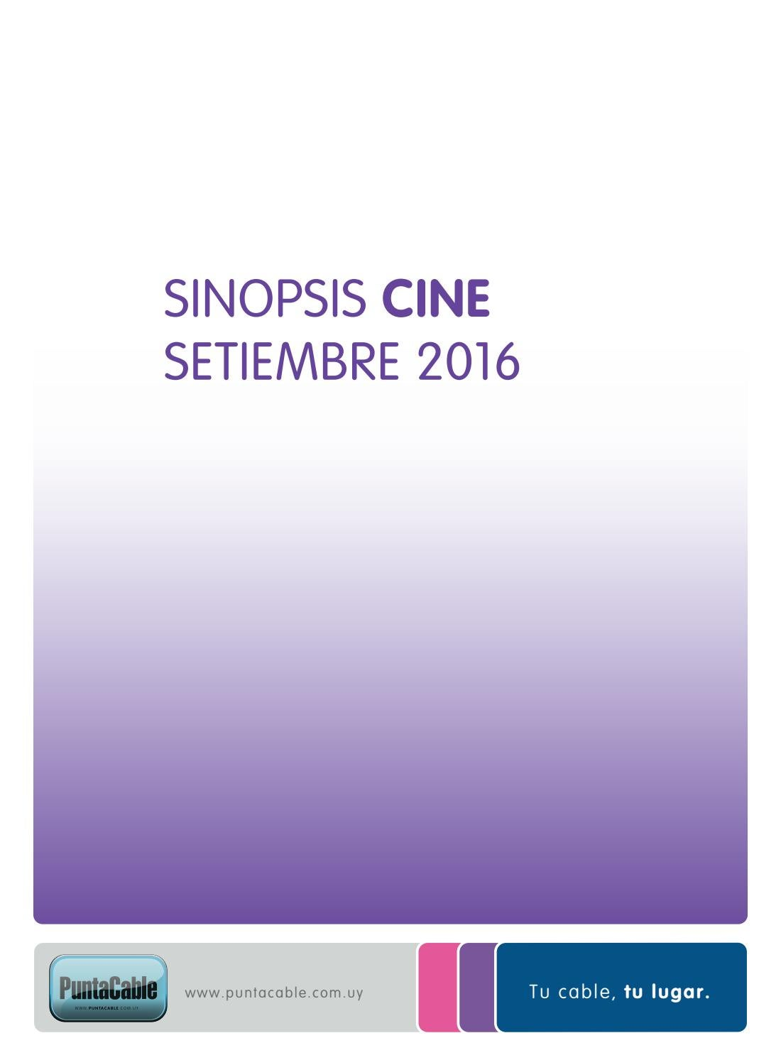 Sinopsis setiembre by Punta Cable - issuu