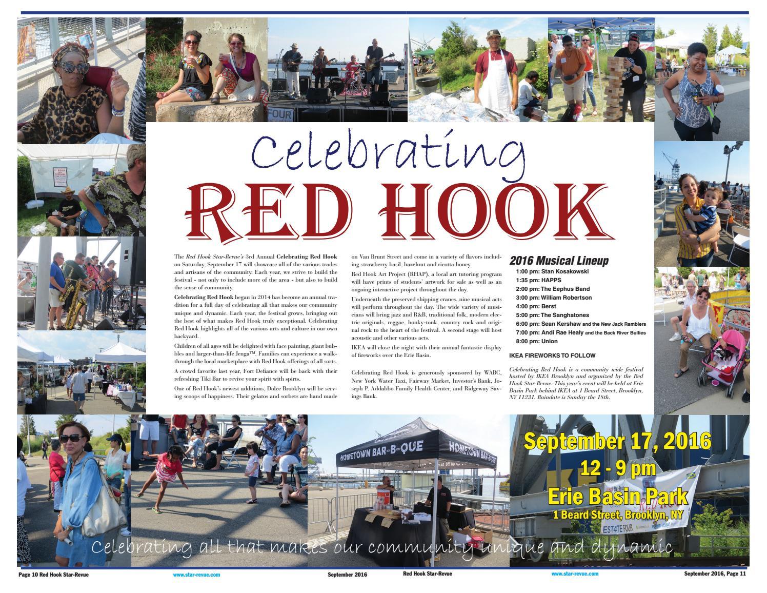 Red Hook Star Revue September 2016 By George Fiala Issuu