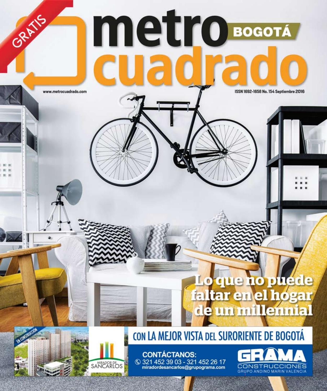 Edici N No 154 Septiembre 2016 Bogot By Revista  # Muebles Renovar Jamundi