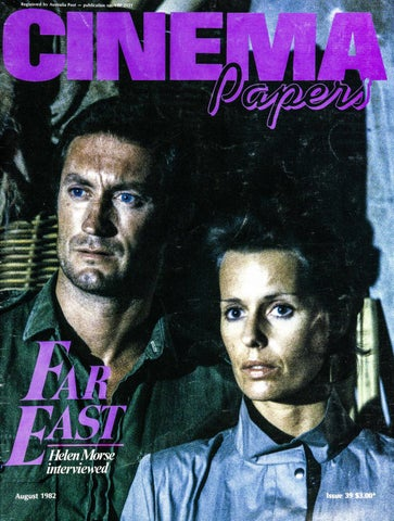 Cinema Papers August 1982 By Uow Library Issuu