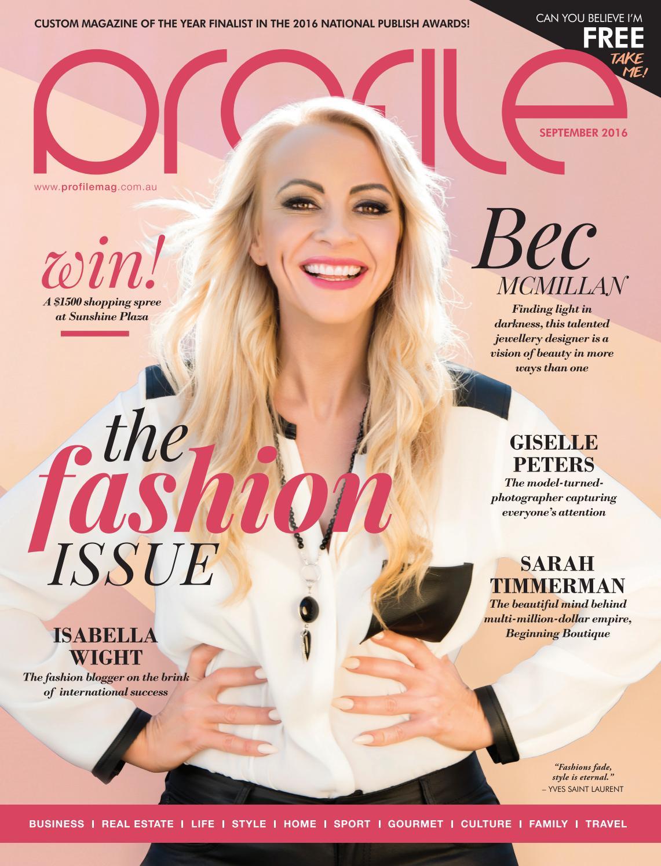 848fc220b8 September Profile Magazine 2016 by Profile Magazine - issuu