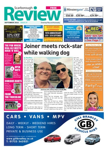 b83df3e6cee95 Scarborough Review September 2016 by Your Local Link Ltd - issuu