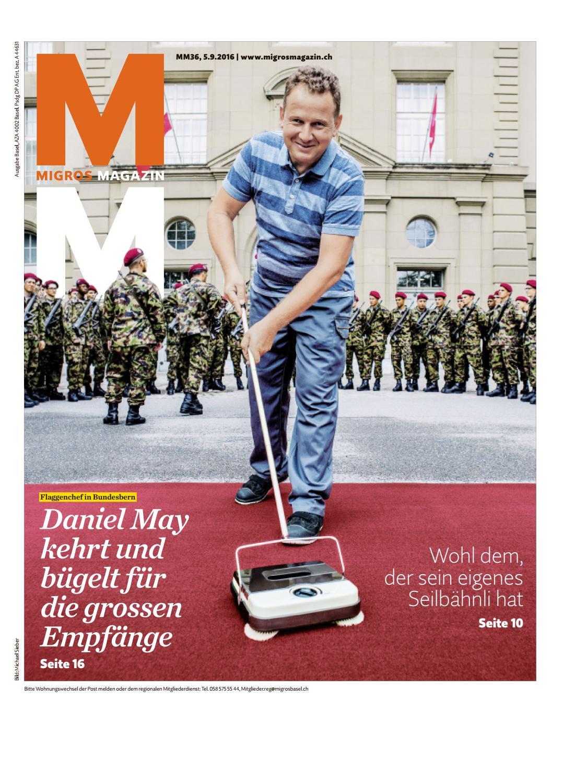 Migros Magazin 36 2016 D Bl By Migros Genossenschafts Bund Issuu