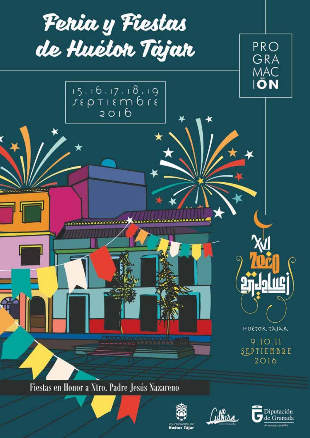 Programa Feria Hu Tor T Jar Septiembre 2016 By Radio Hu Tor T Jar  # Muebles Baena Huetor Tajar