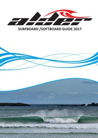 Alder 2017 Surfboard Guide By Alder Sportswear Issuu