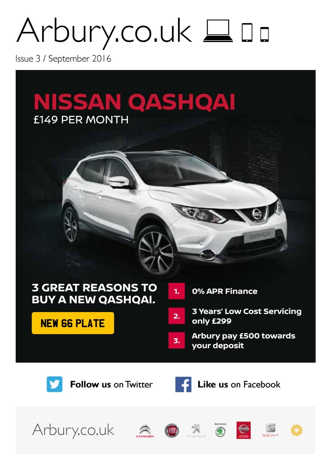 Arbury Nissan Newsletter - Issue 3 2016 by ...