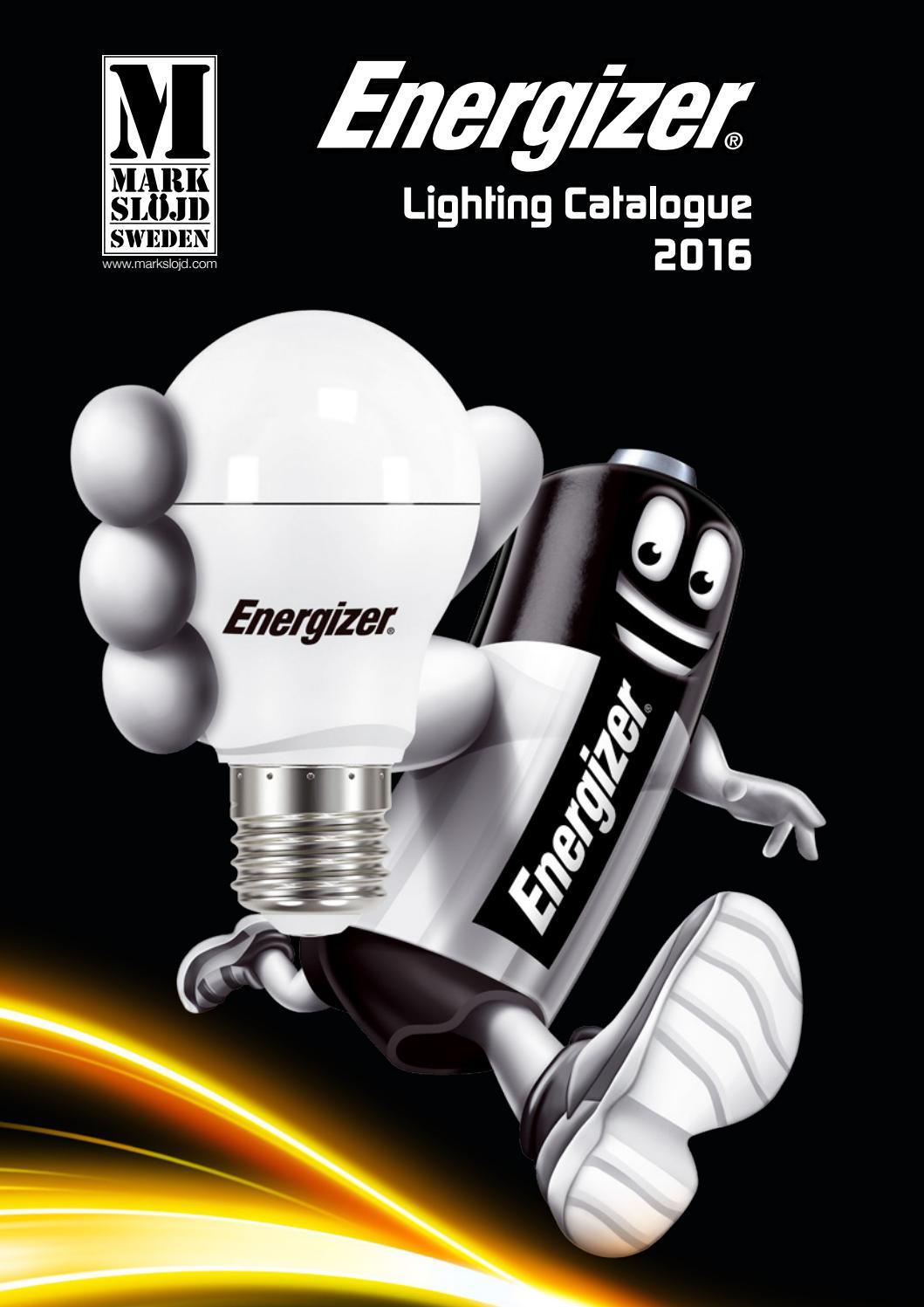 Markslöjd Energizer Lighting 2017 By