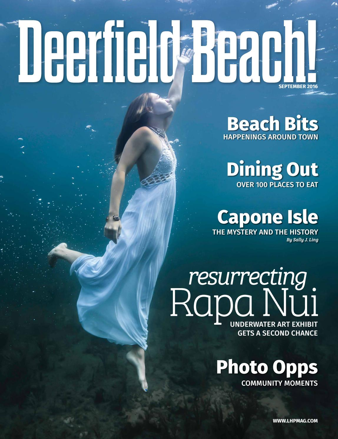 Deerfield Beach! Magazine Premiere Issue, Sept. 2016 by Point ...