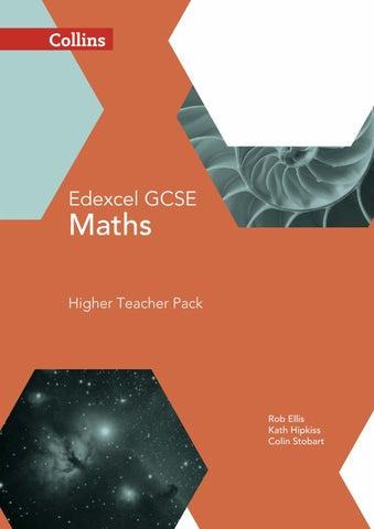 Edexcel Maths Higher Teacher Pack by Collins - issuu