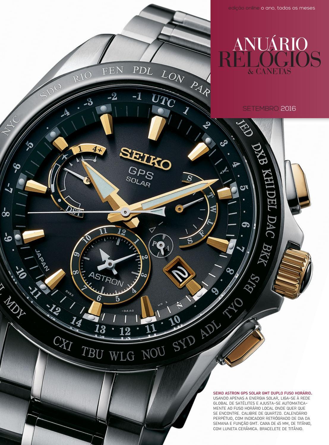 d51c7680307 Anuário Relógios   Canetas - Setembro 2016 by Anuário Relógios   Canetas -  issuu