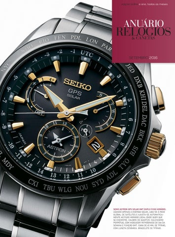 603ebe6a9da Anuário Relógios   Canetas - Setembro 2016 by Anuário Relógios ...