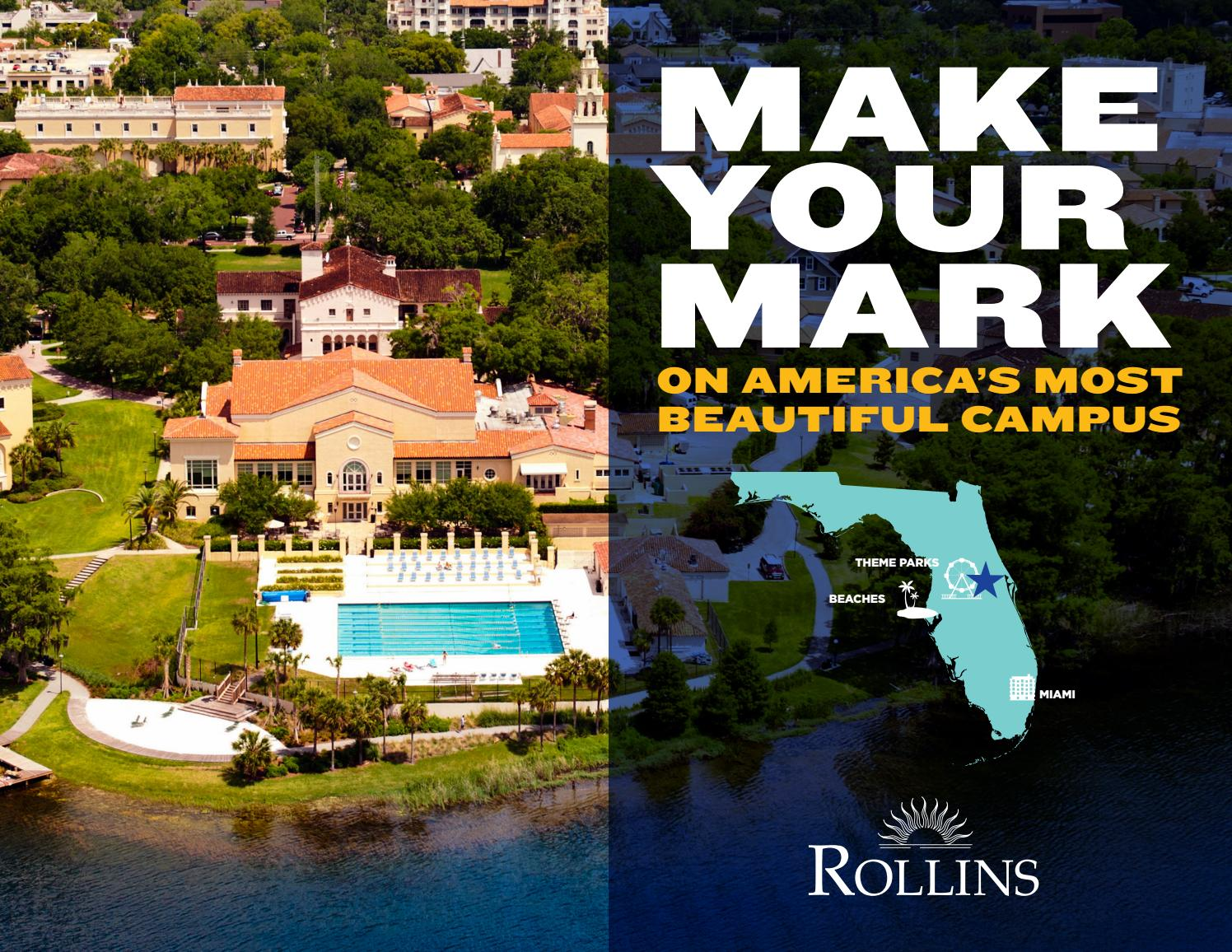 Rollins College International Student Brochure By Rollins College
