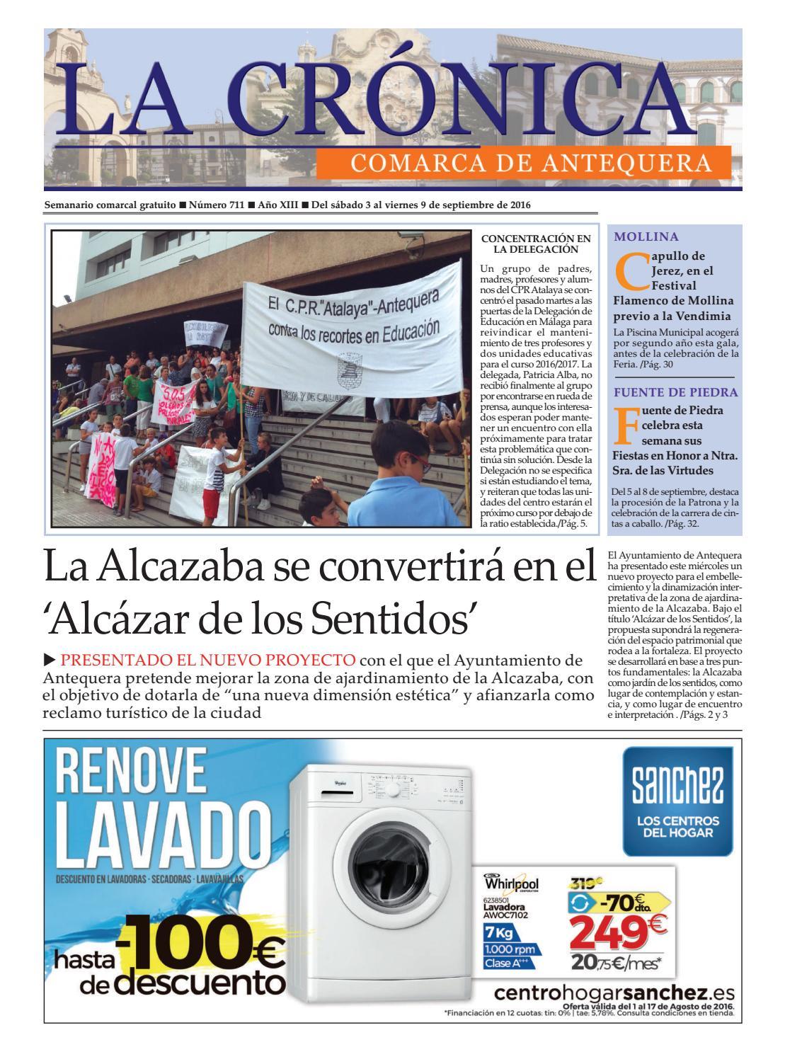 LA CRÓNICA 711 by LA CRÓNICA COMARCA DE ANTEQUERA - issuu