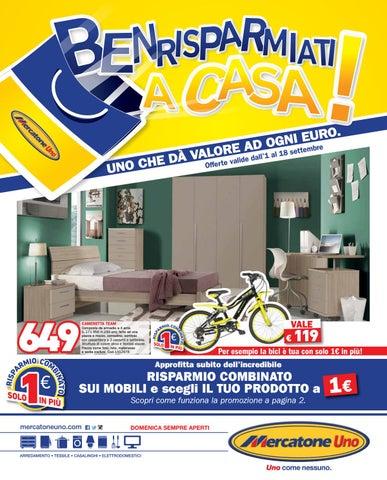 Mercatoneuno 18set by best of volantinoweb issuu for Mercatone uno materassi